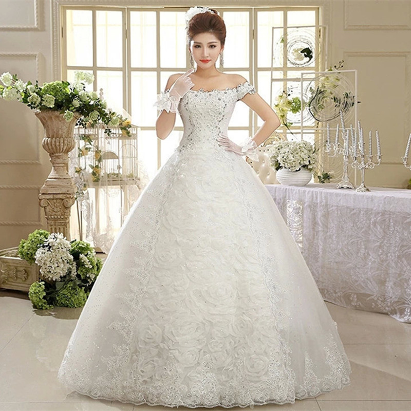 wedding dresses from china free shipping photo - 1