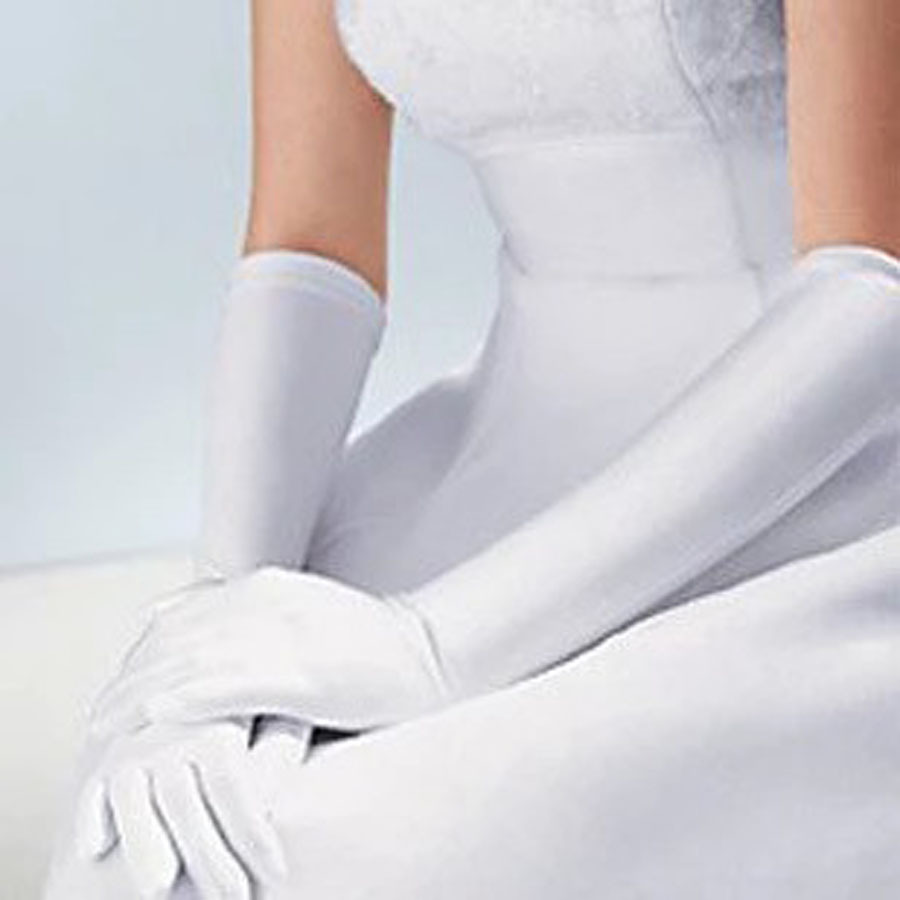 wedding dresses gloves photo - 1