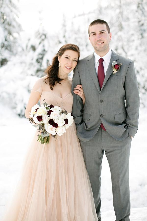 wedding dresses in different colors photo - 1
