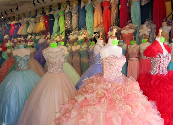 wedding dresses in downtown la photo - 1