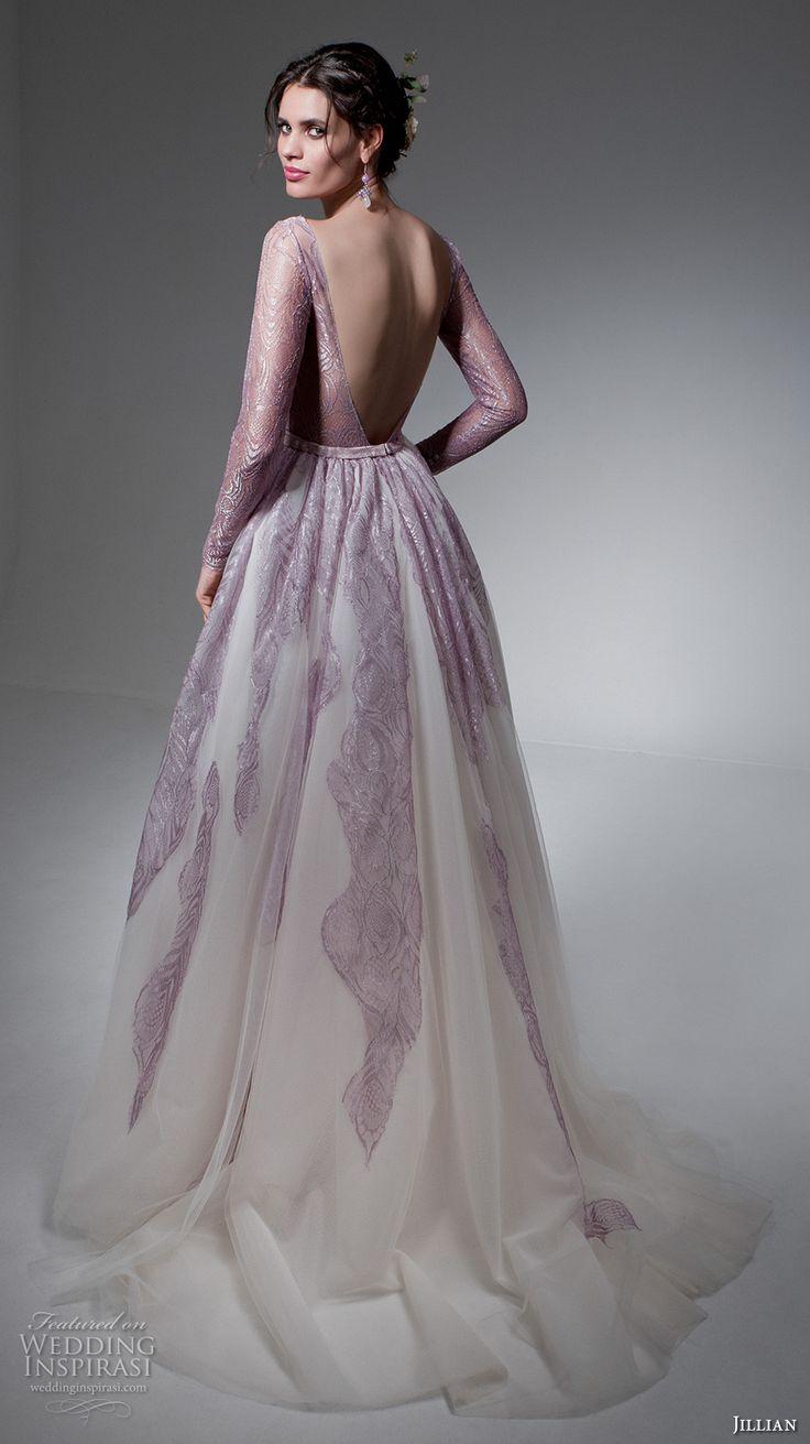 wedding dresses lavender photo - 1