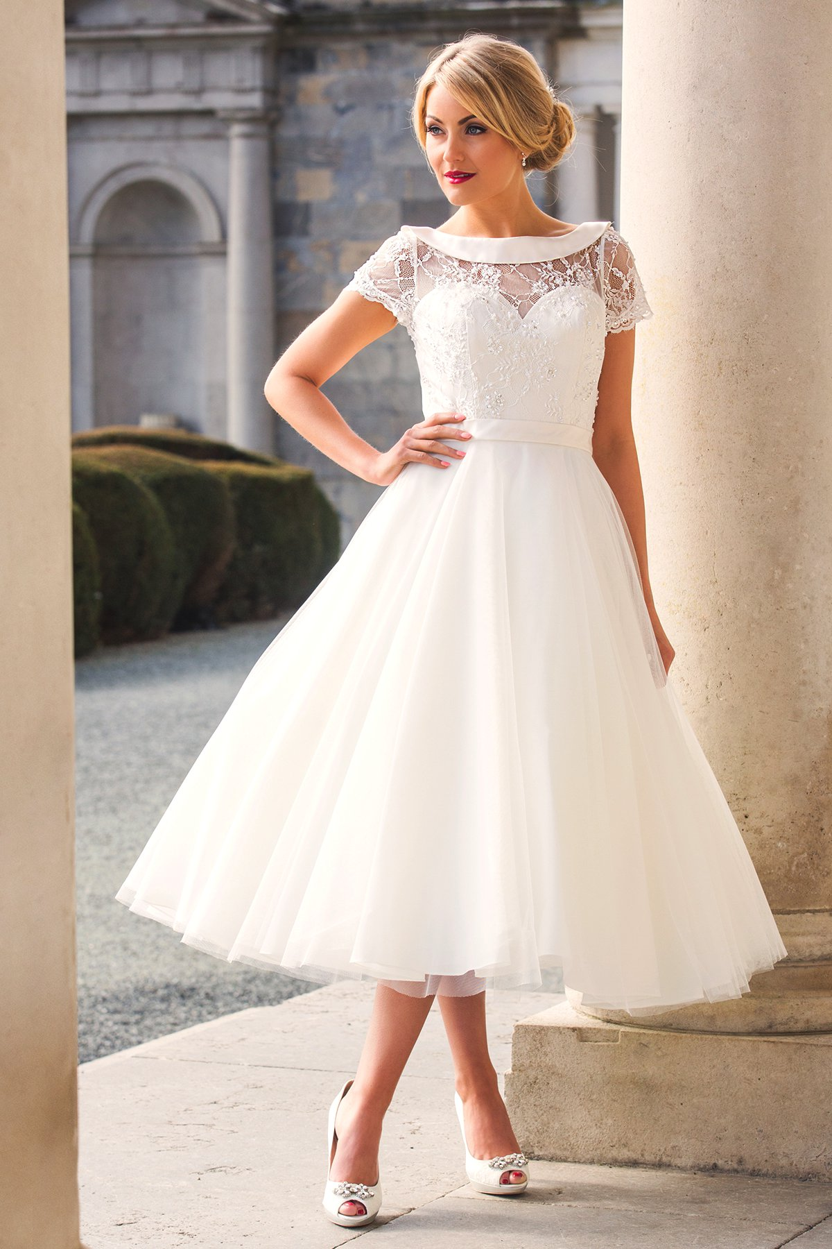 wedding dresses length photo - 1