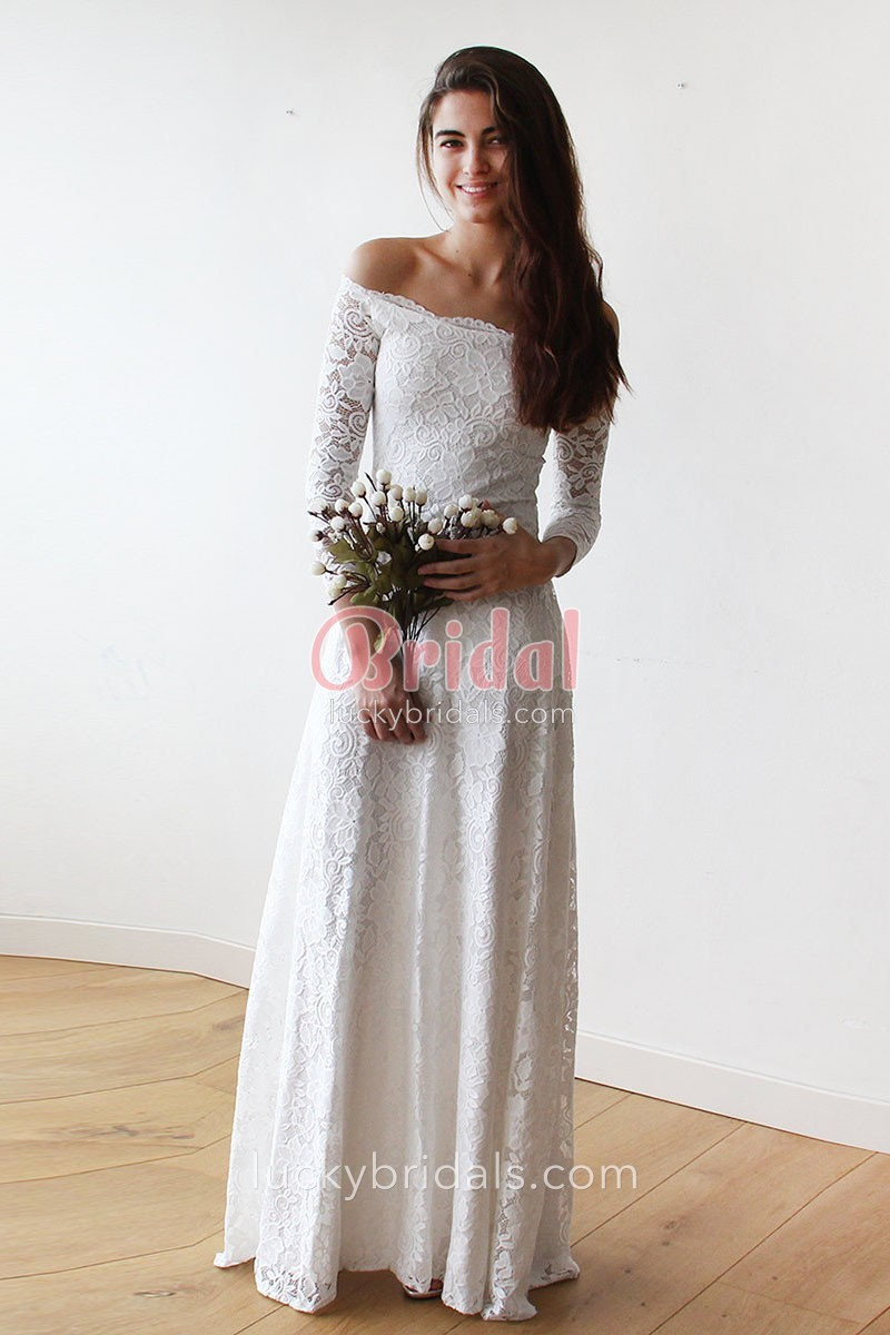 wedding dresses long sleeve photo - 1
