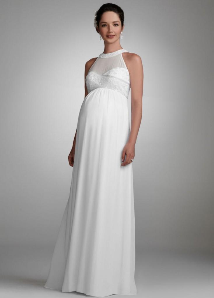 wedding dresses maternity photo - 1