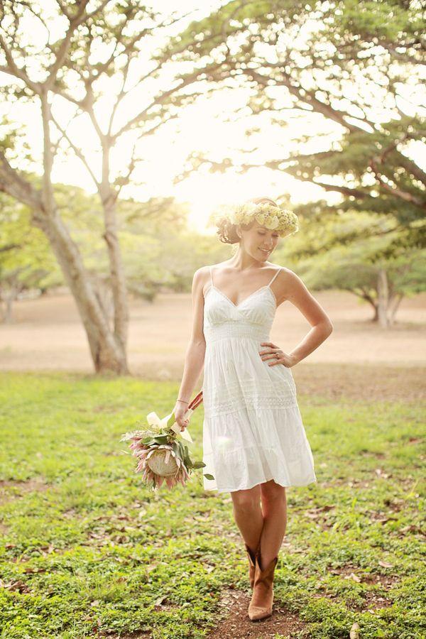 wedding dresses maui photo - 1