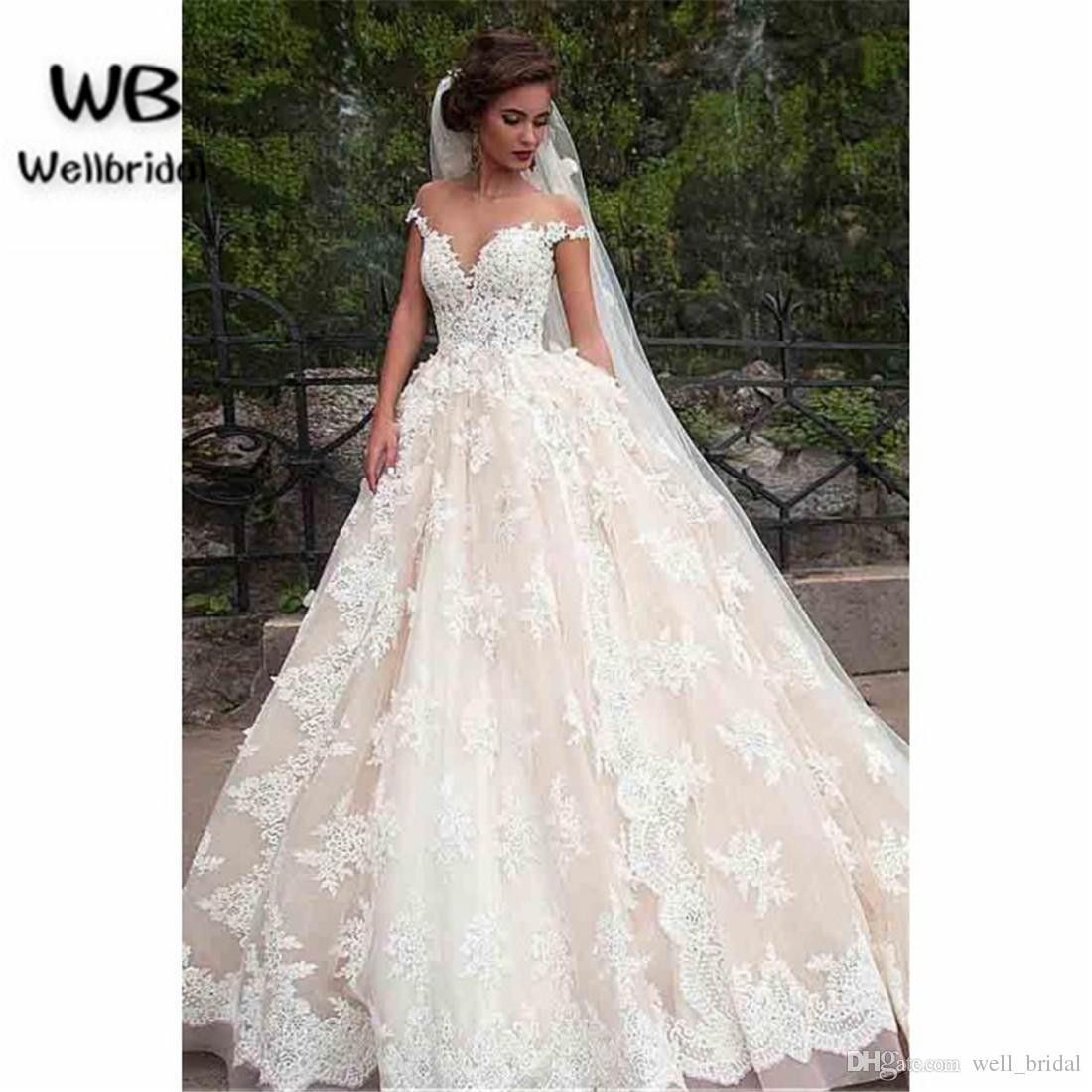 wedding dresses measurements photo - 1