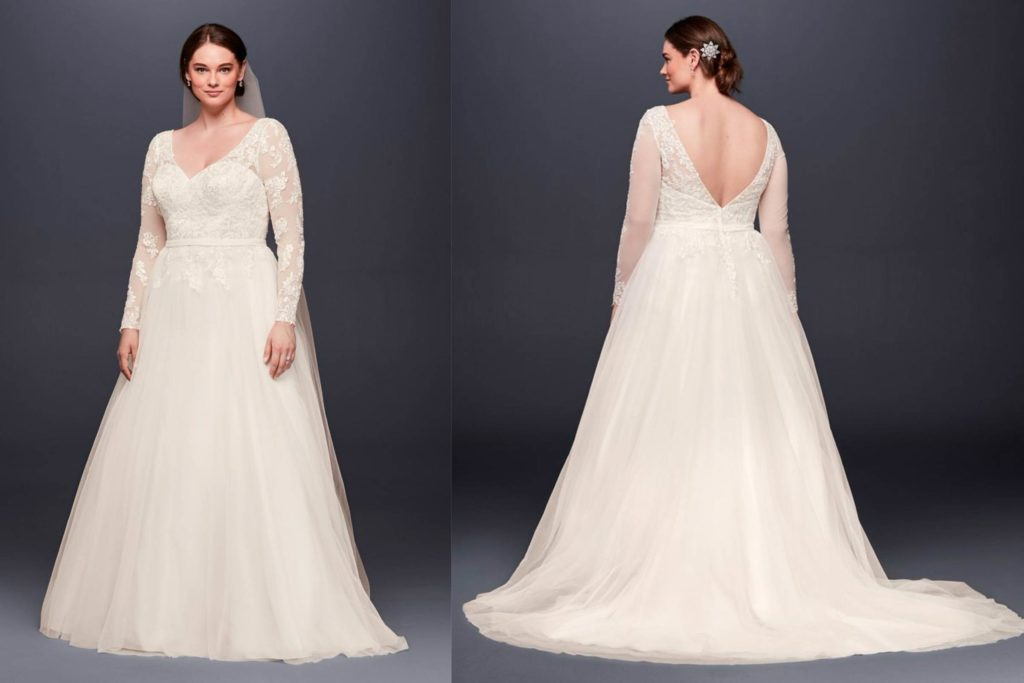 wedding dresses petite photo - 1
