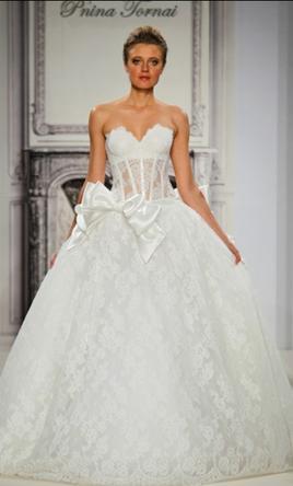 wedding dresses pnina tornai sale photo - 1