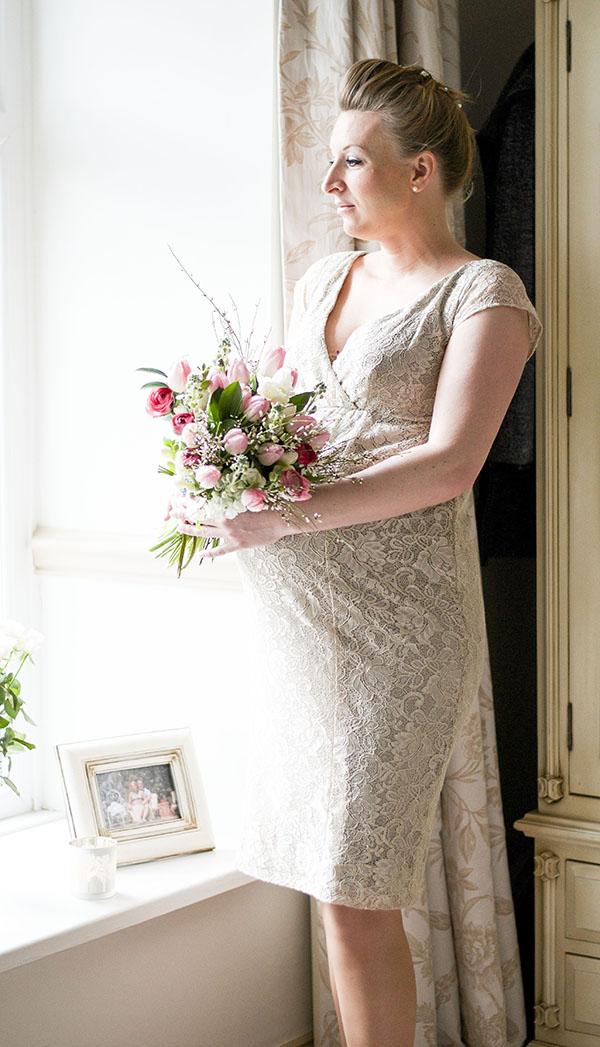 wedding dresses pregnant brides photo - 1