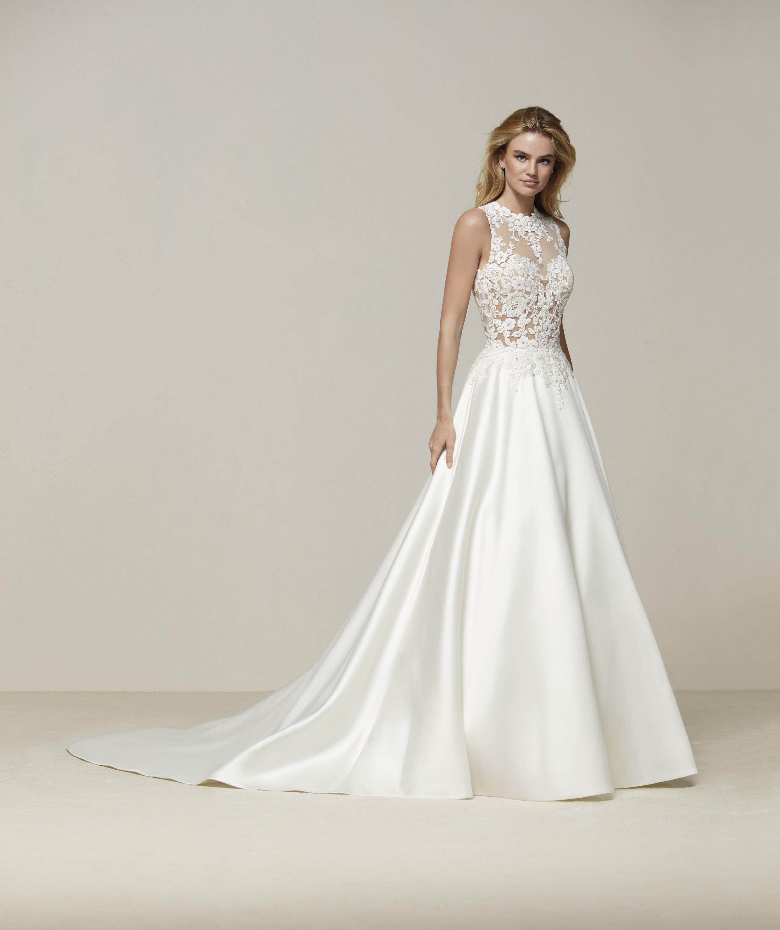 wedding dresses pronovias photo - 1