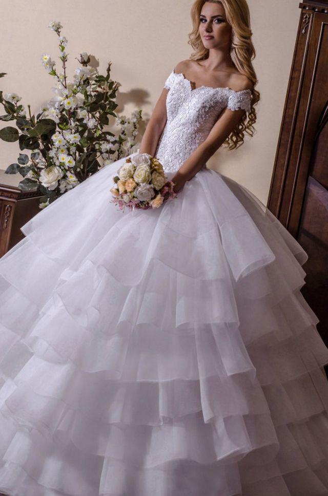 wedding dresses puffy photo - 1