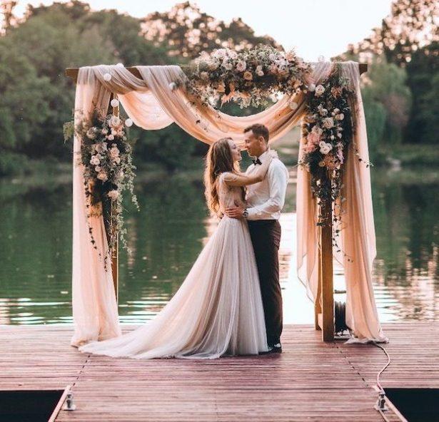 wedding dresses purple photo - 1