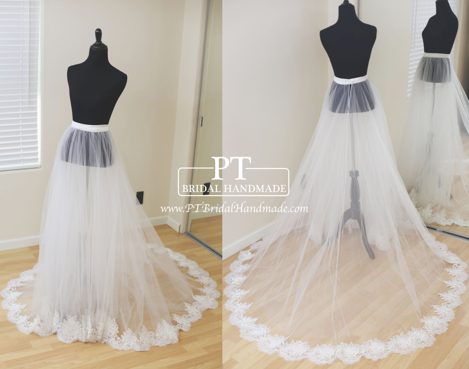 wedding dresses removable skirts photo - 1