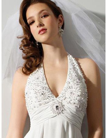 wedding dresses short photo - 1
