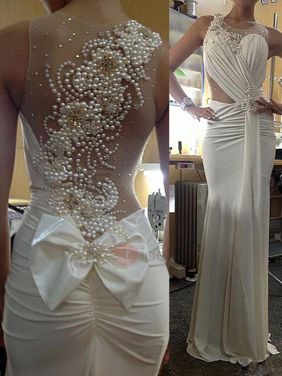 wedding dresses short lace photo - 1