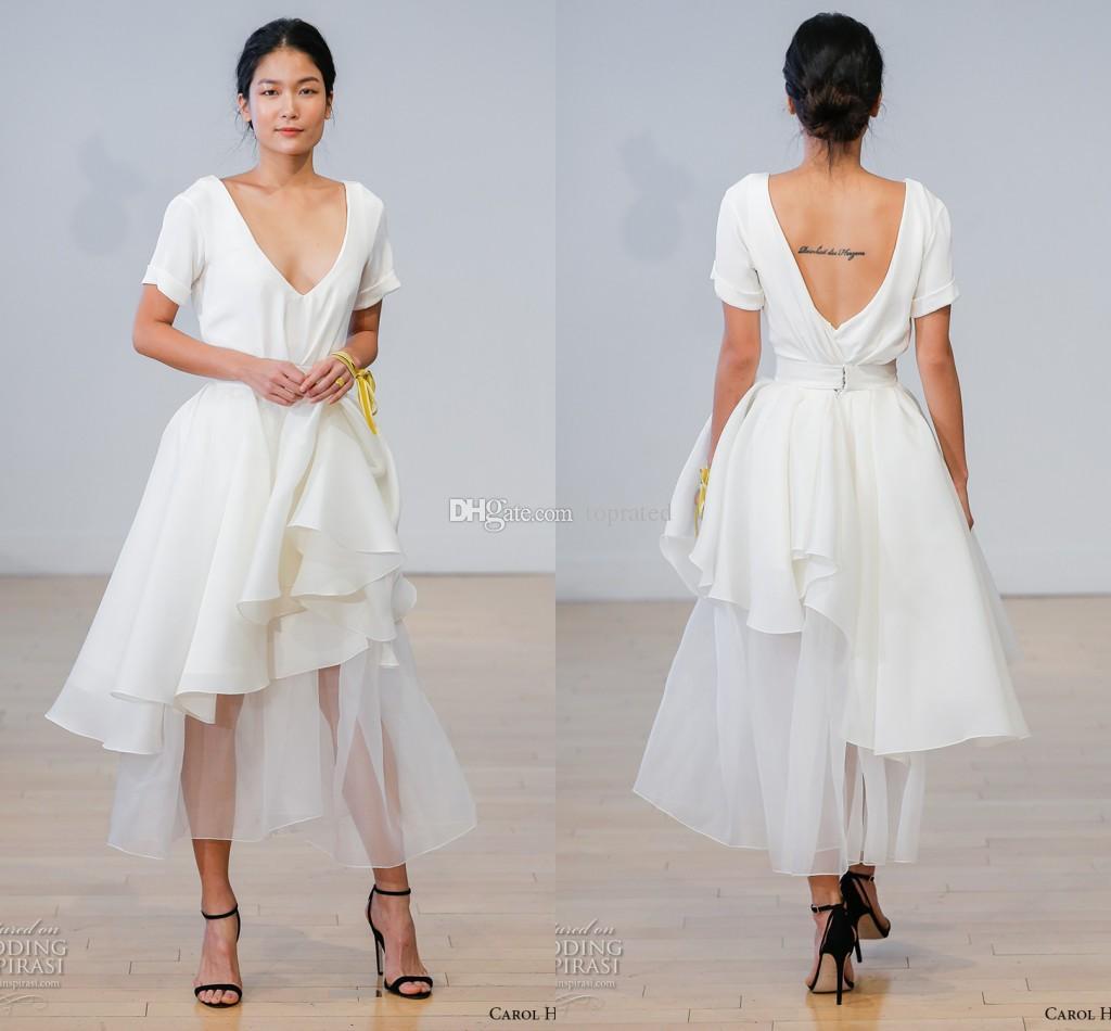 wedding dresses short sleeve photo - 1