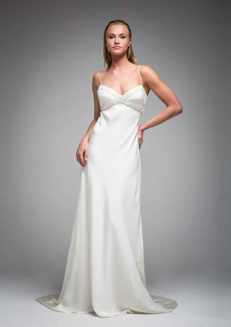 wedding dresses simple photo - 1
