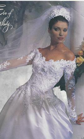 wedding dresses size 8 photo - 1