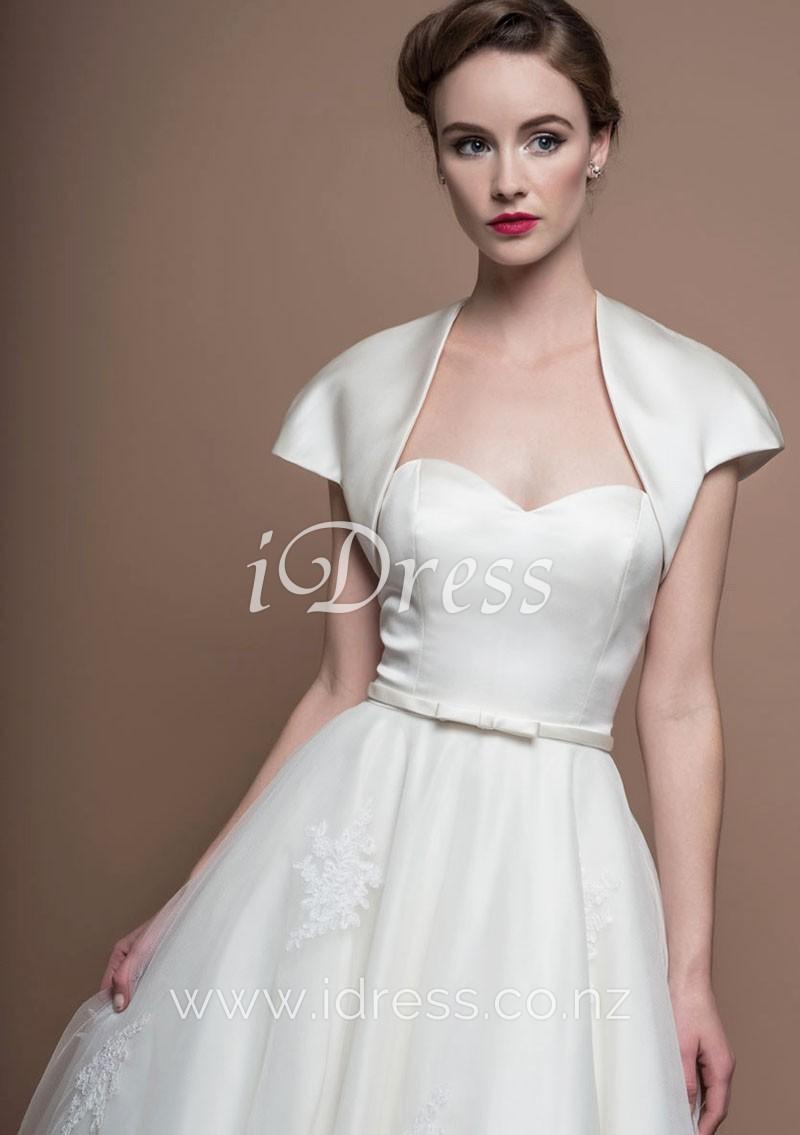 wedding dresses strapless sweetheart photo - 1