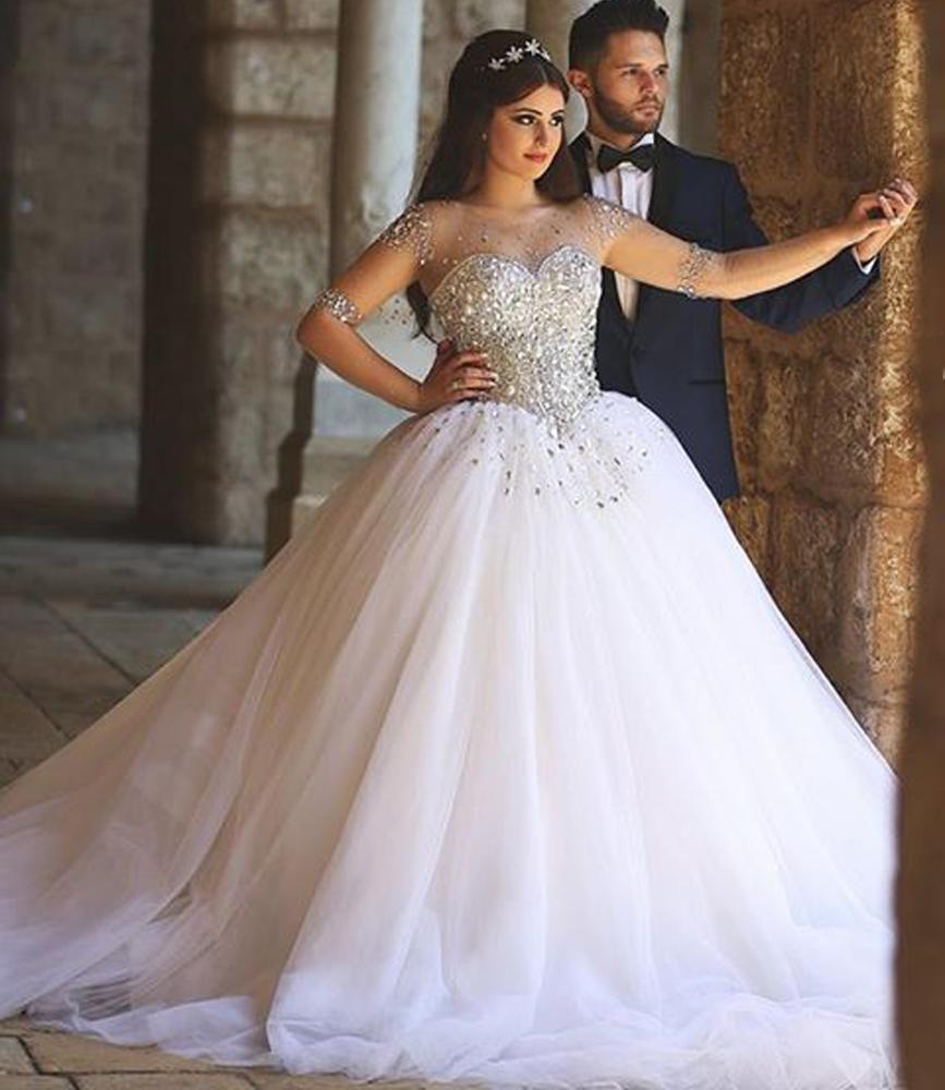 wedding dresses sweetheart neckline princess photo - 1