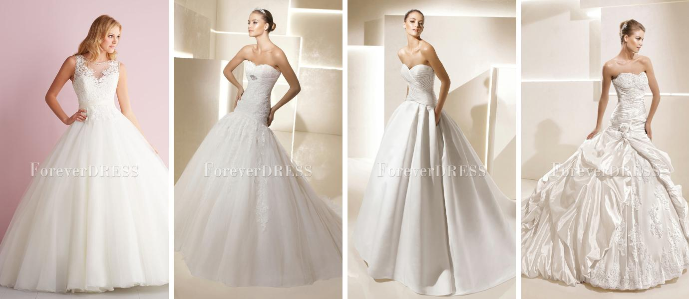 wedding dresses that aren t white photo - 1