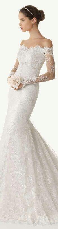 wedding dresses trumpet mermaid photo - 1