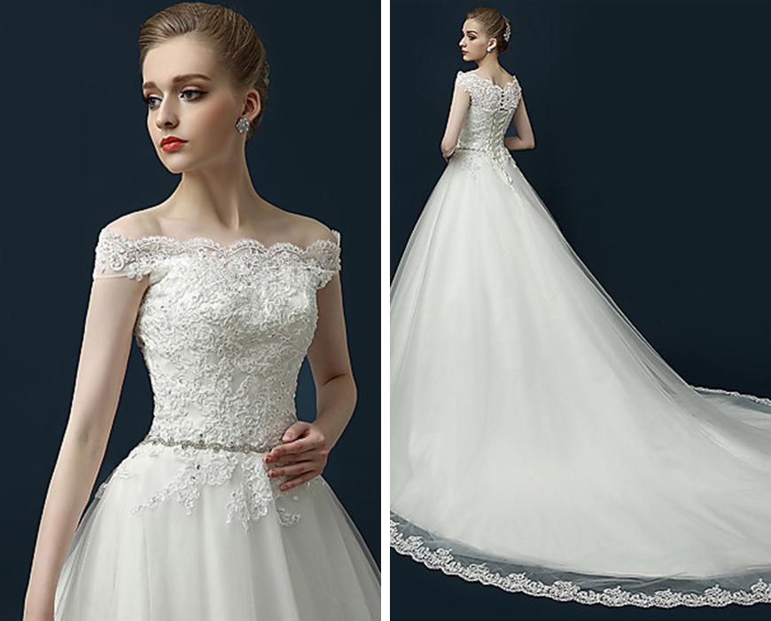 wedding dresses under 150 photo - 1