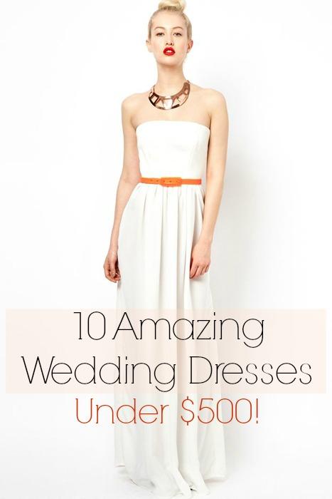 wedding dresses under 500 dollars photo - 1