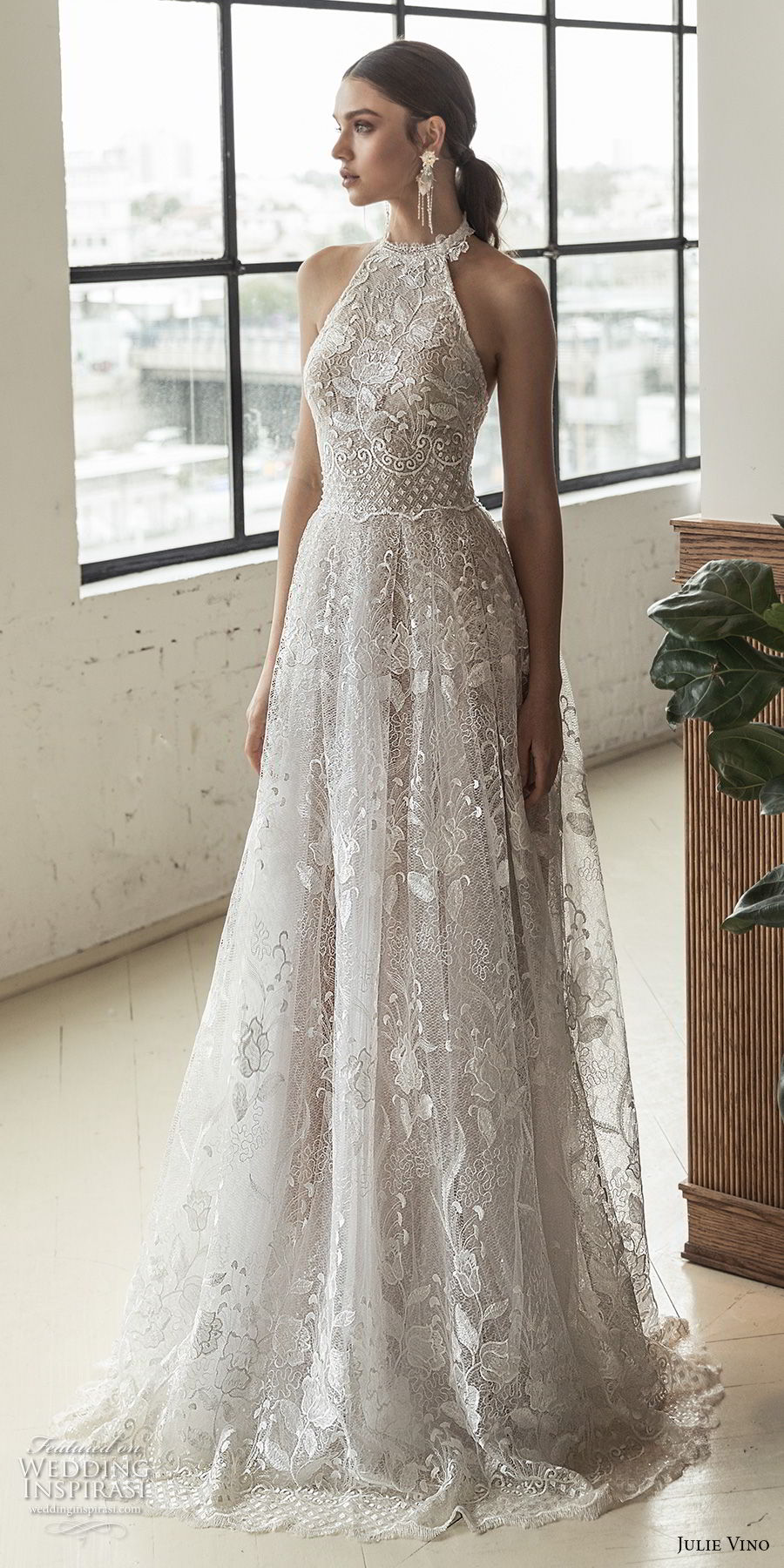 wedding dresses with back out photo - 1