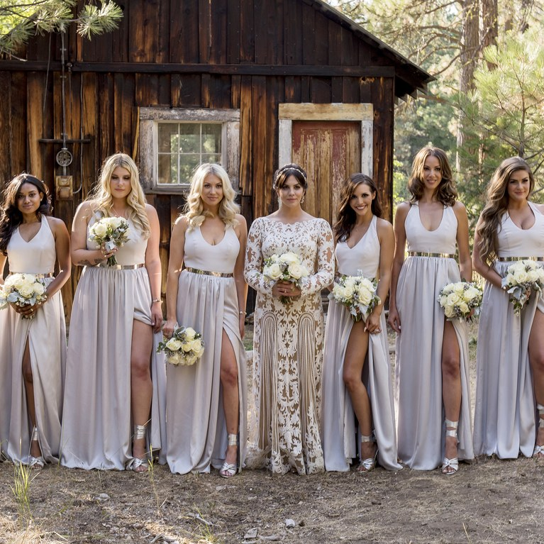 wedding dresses with boots photo - 1