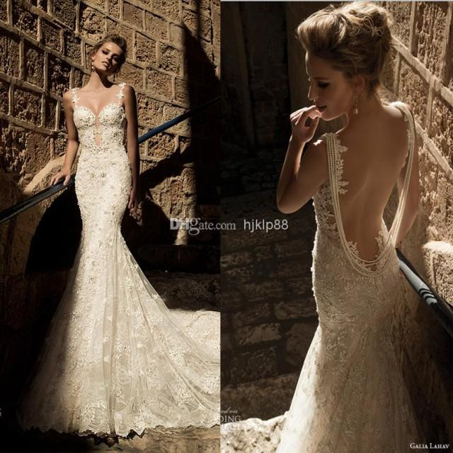 wedding dresses with buttons down the back photo - 1