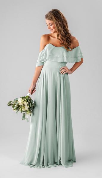wedding dresses with color photo - 1