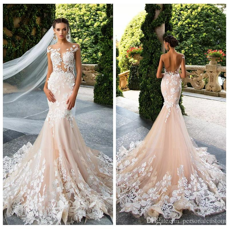 wedding dresses with color in them photo - 1
