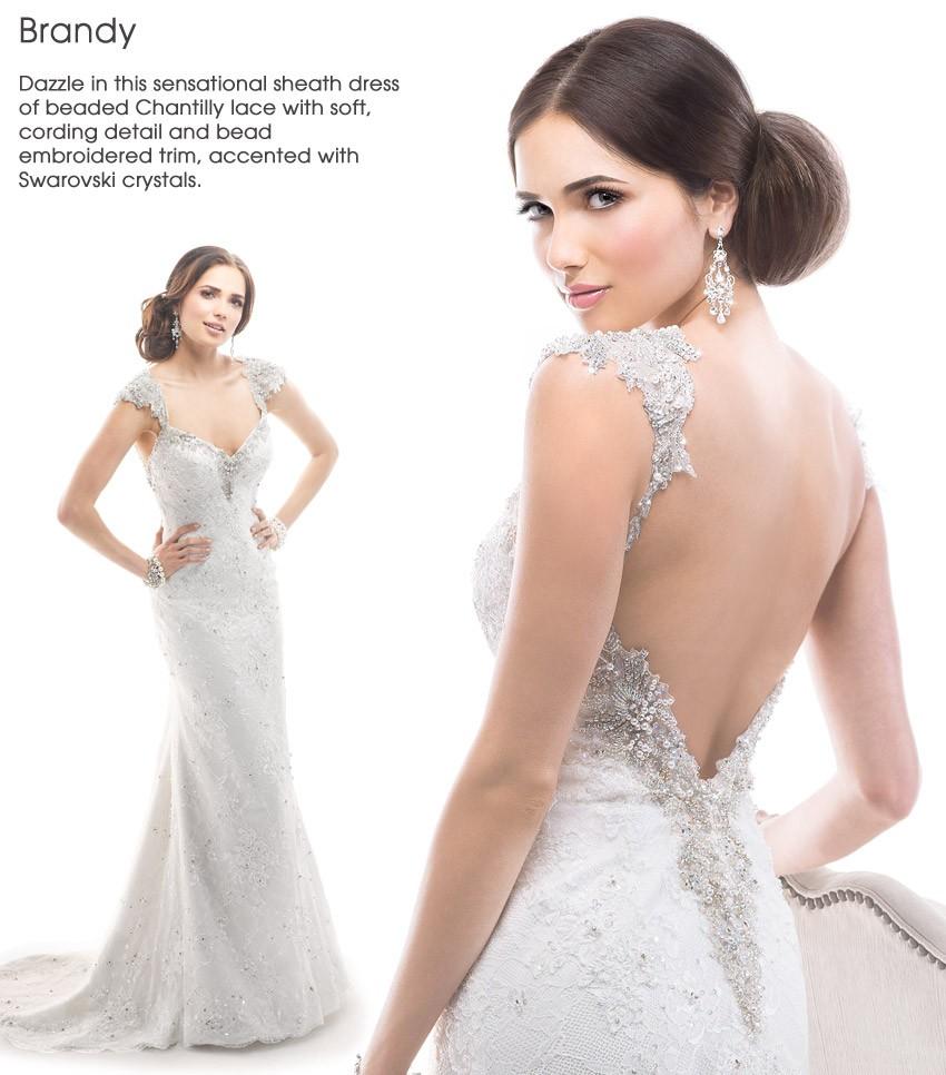 wedding dresses with dramatic backs photo - 1