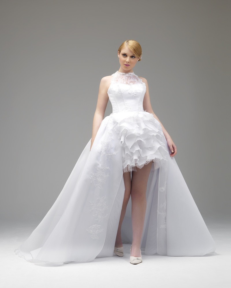 wedding dresses with long trains photo - 1