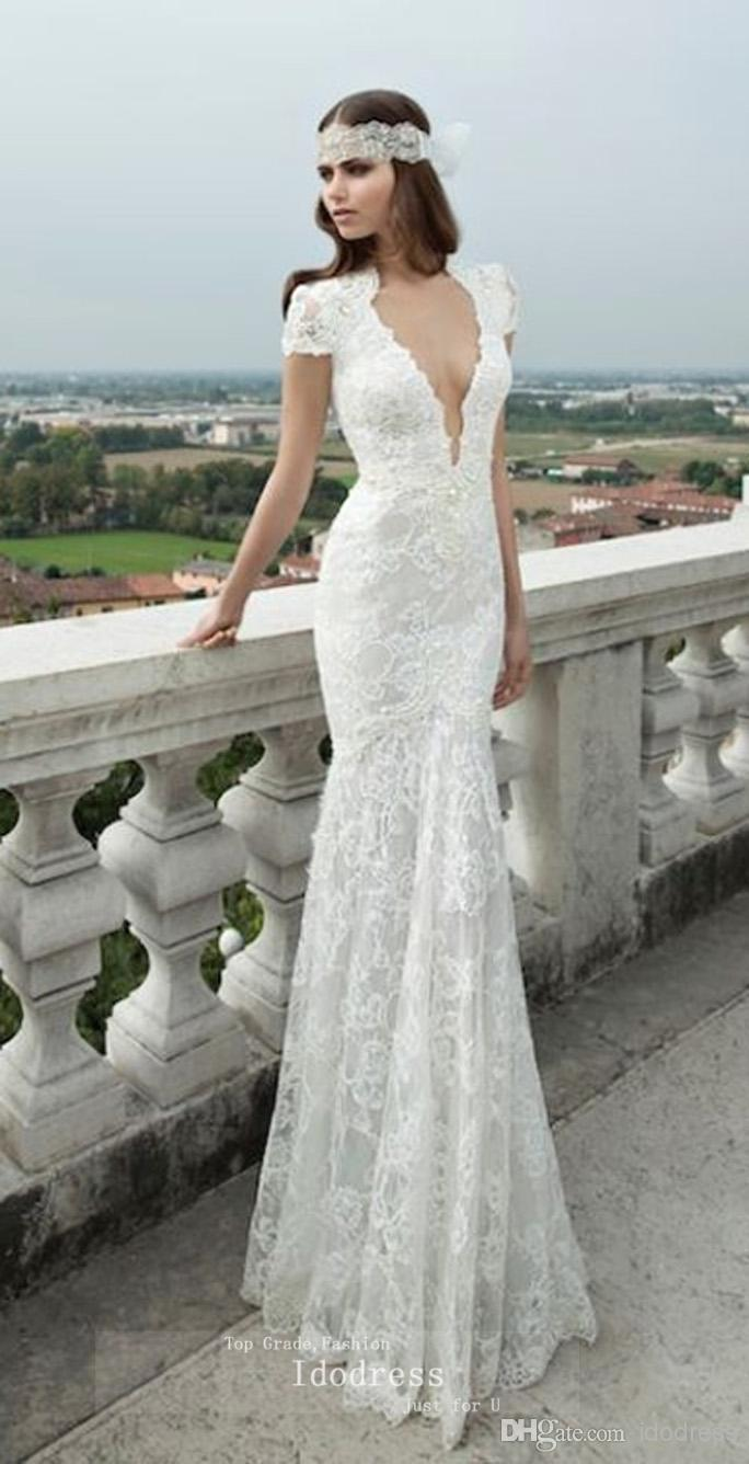 wedding dresses with pearls photo - 1