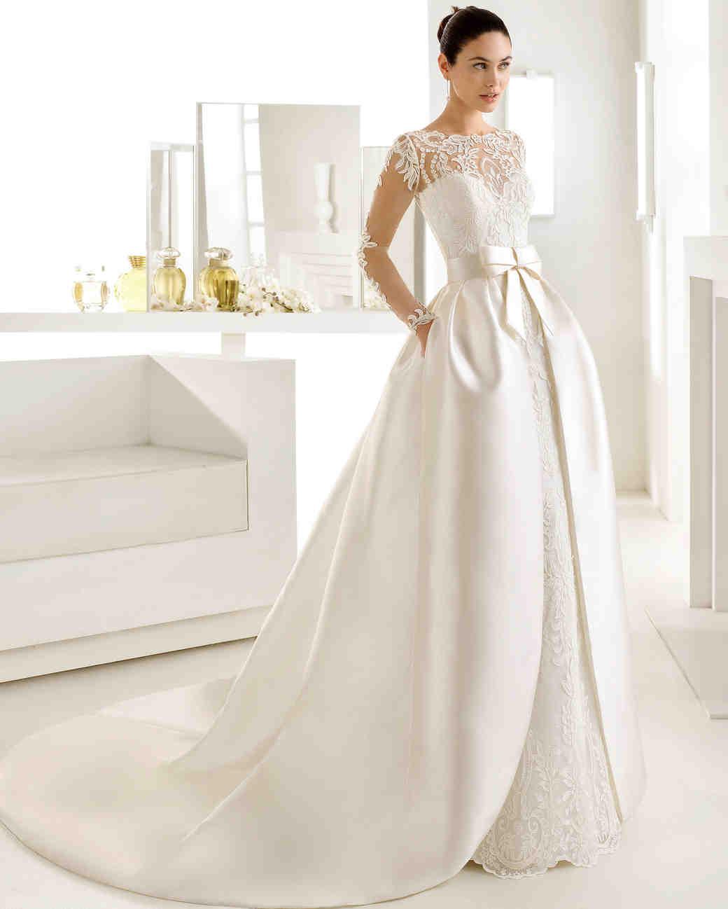 wedding dresses with pockets photo - 1