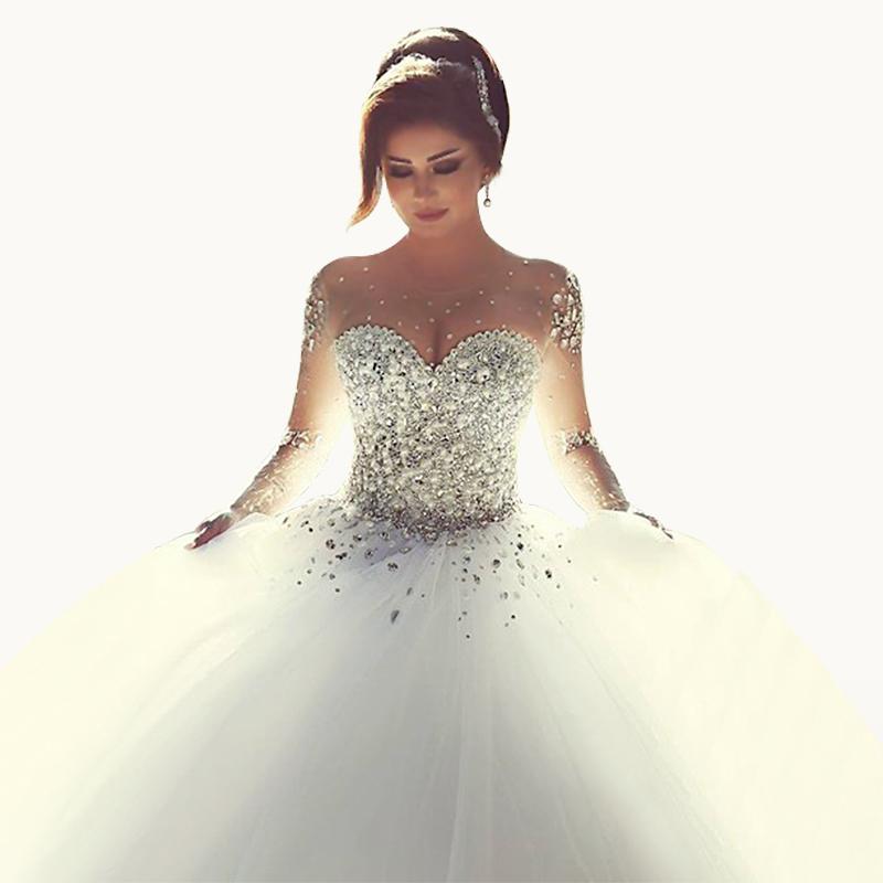wedding dresses with rhinestones photo - 1