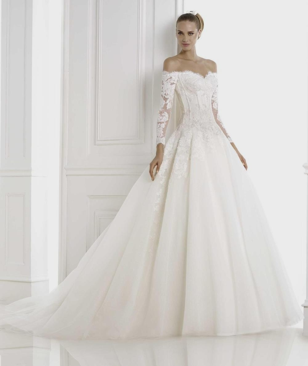 wedding dresses with sleeves photo - 1