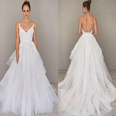 wedding dresses with straps photo - 1