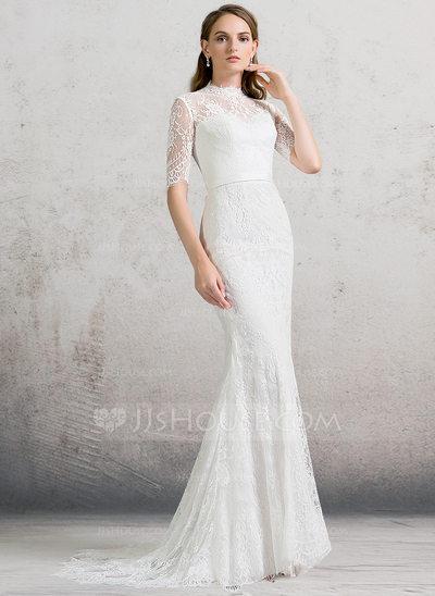 wedding dresses with v neck photo - 1