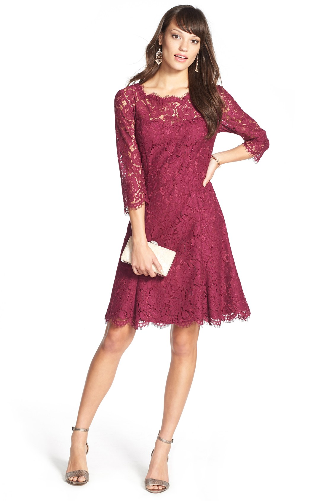 wedding guest dresses fall photo - 1