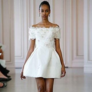 wedding reception dresses for brides photo - 1