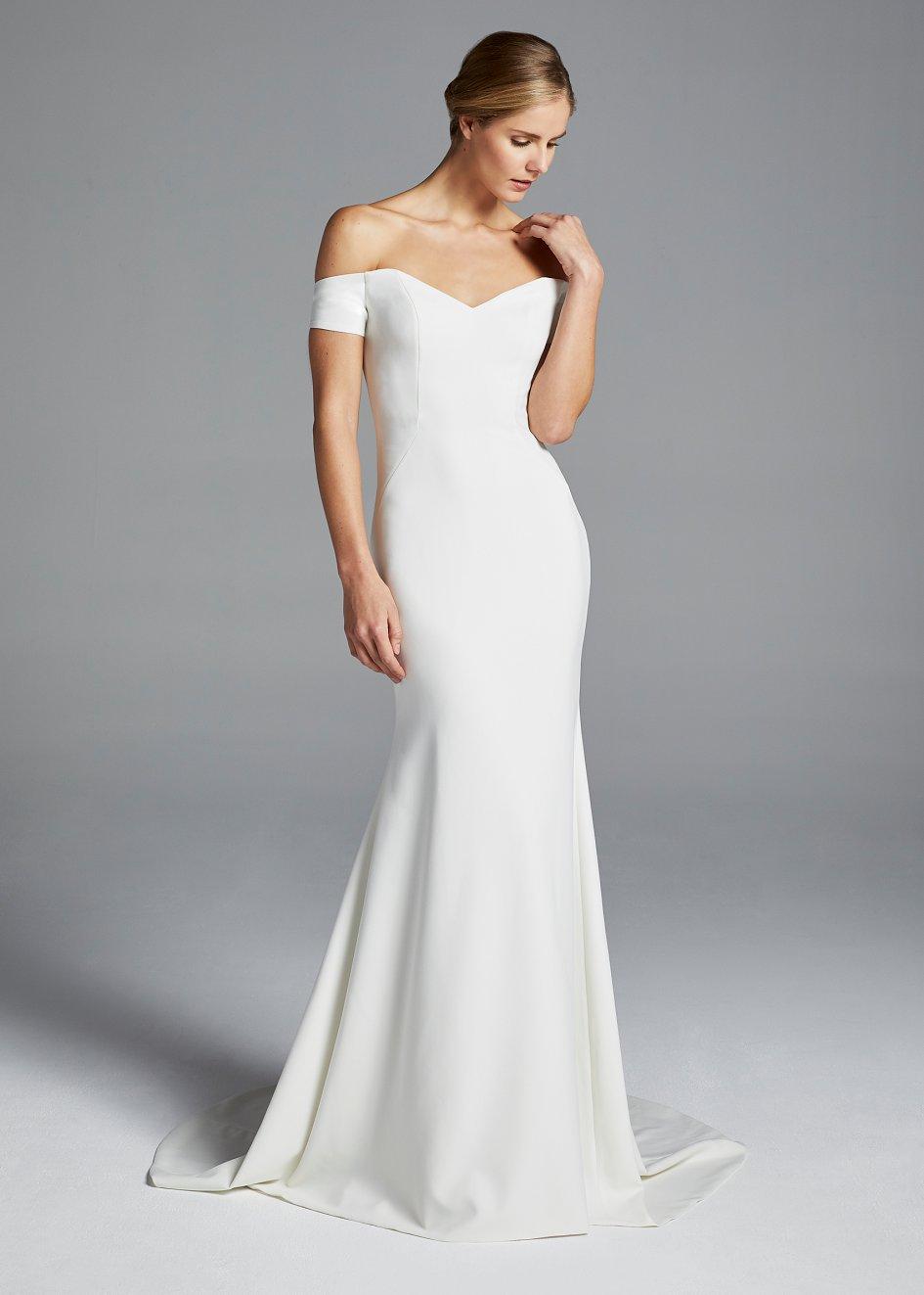 wedding simple dresses photo - 1