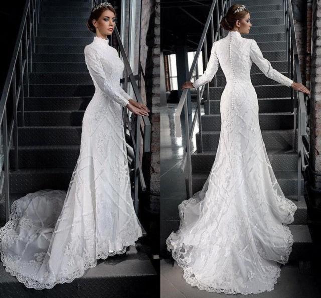 western lace wedding dresses photo - 1