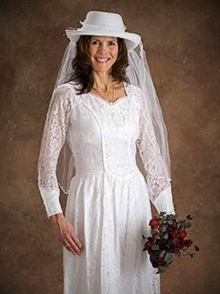 western style wedding dresses with cowboy boots photo - 1