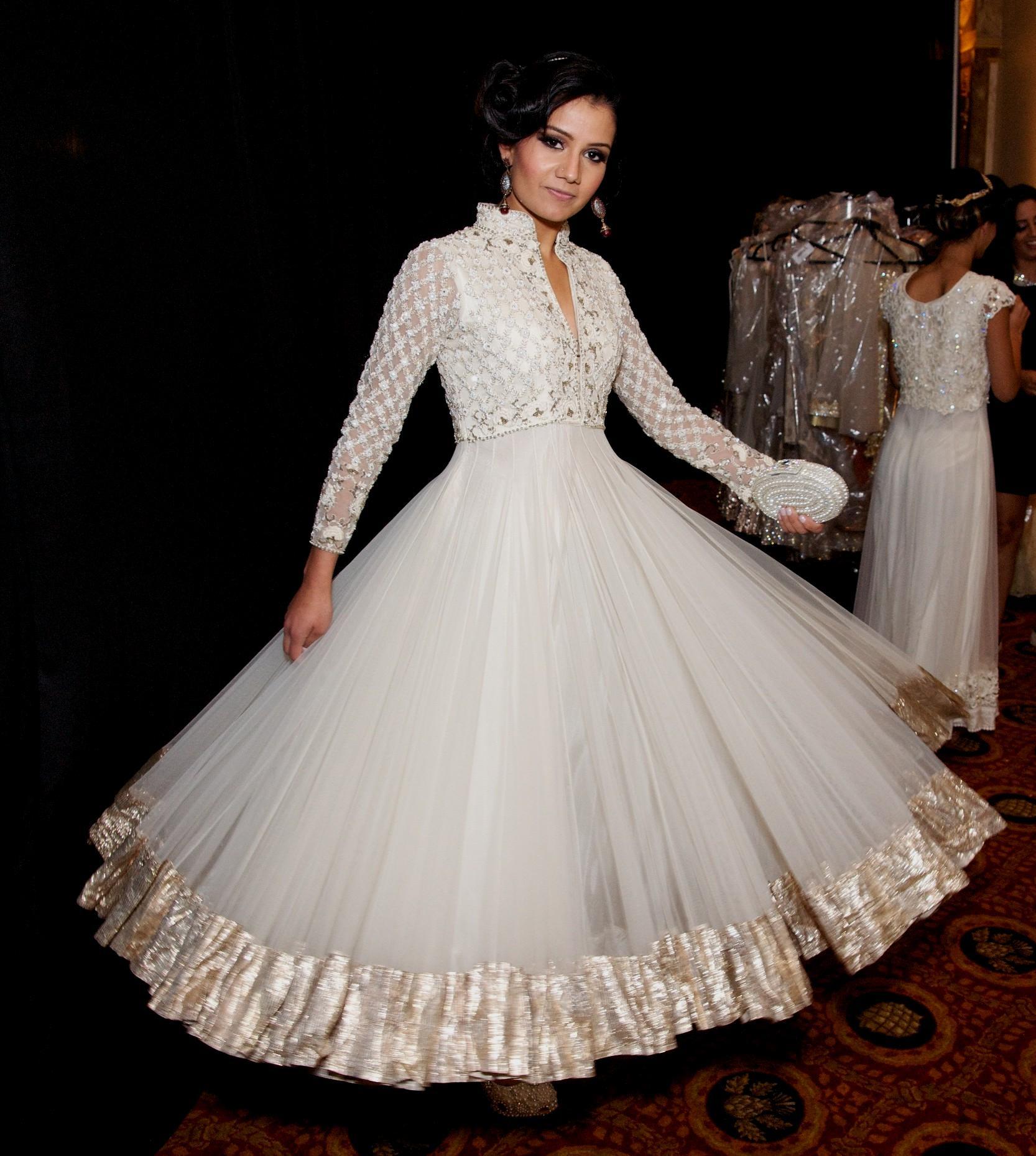 western wedding dresses for womens photo - 1