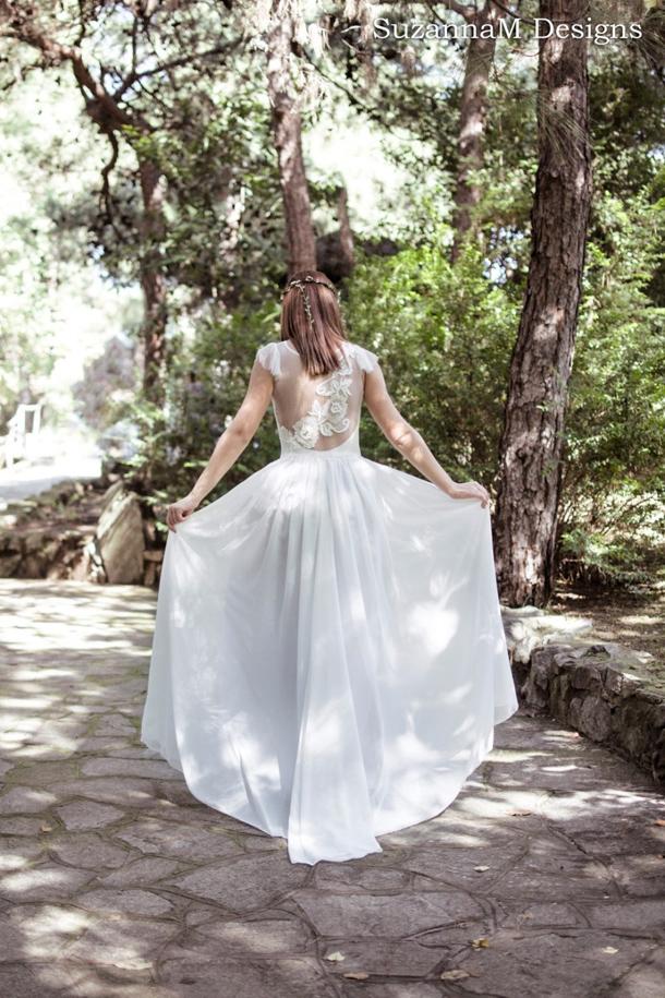 where to buy bohemian wedding dresses photo - 1