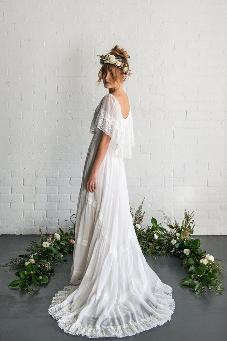 where to buy boho wedding dresses photo - 1