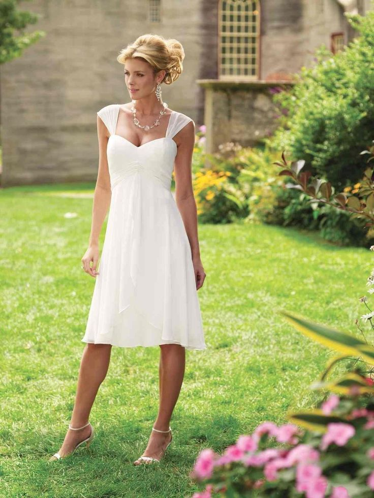 where to buy casual wedding dresses photo - 1